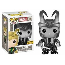 Funko Pop Loki Black & White # 36 Marvel Vinyl Bobble Head Figure