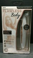 Flawless Finishing Touch Body Cordless Shaver Underarms Bikini Legs Open Box T88