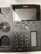 Snom D785 IP PBX Phone - Black - Great Condition!