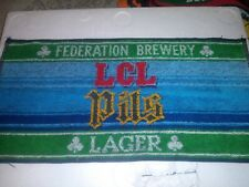 Vintage Federation Brewery Lcl Pils Lager Bar Towel