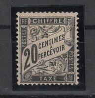 AG4964/ FRANCE – POSTAGE DUE – Y&T # T17 MINT MH - CV 585 $
