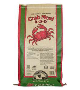 Down To Earth - Crab Meal (4-3-0) 40 LB - All Natural Organic Fertilizers