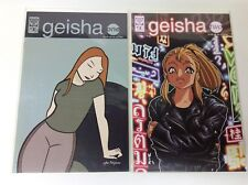 GEISHA ONE #1-2 (ONI PRESS/1998/ANDY WATSON/0618365) COMPLETE SET LOT OF 2