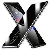 Transparent Cover für Sony Xperia 1 Handy Hülle Silikon Case Schutz Tasche