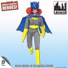 World's Greatest Heroes Retro BATGIRL w/ REMOVABLE COWL MEGO Figures Toy Company
