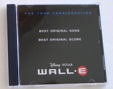 WALL.E Promotional For Your Consideration Awards CD Peter Gabriel Thomas Newman