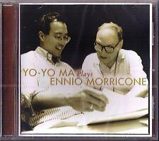 Yo-Yo MA Plays Ennio MORRICONE The Mission Cinema Paradiso Lady Caliph Moses CD