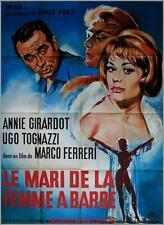 LE MARI DE LA FEMME A BARBE Affiche Cinéma / Movie Poster Annie Girardot