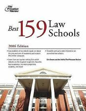 The Best 159 Law Schools (Princeton Review: Best Law Schools), Princeton Review,
