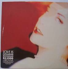 "CATHARINE BUCHANAN ~ Love Is ~ 12"" Single PS"