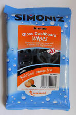 Simoniz Interior and Dashboard Gloss Cleaning Wipes Pack of 20
