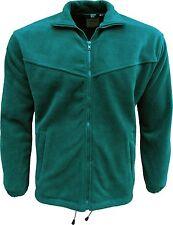 Mens Harbour Lights Big King Size Polar Fleece Jacket Green Blue Size XS-5XL