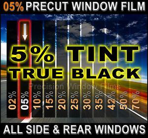 PreCut All Sides & Rears Window Film Black 5% Tint Shade VLT Cut for Audi Glass