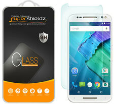 Supershieldz [Tempered Glass] Screen Protector For Motorola Moto X Pure Edition