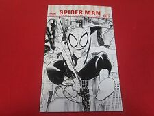 ULTIMATE SPIDER-MAN #1 RARE LAFUENTE SKETCH VARIANT MARVEL 2009