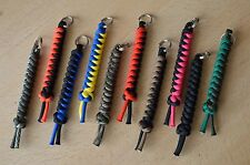 Paracord 550 Lanyard/ Keyring for Multi Tool, Knife, Keys (Choose Your Colour)