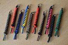 Paracord 550 Cordino/portachiavi per Multi Tool, Coltello, chiavi (scegli il tuo colore)