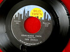 EARLS~ REMEMBER~ LET'S WADDLE~ OLD TOWN 1130~ VG++~ DOO WOP 45