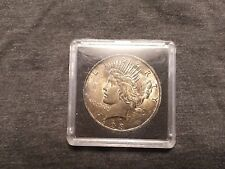 1923 Silver Peace Dollar !! Super High Grade and Toning !!
