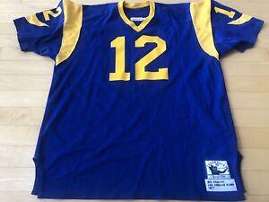 MITCHELL & NESS 1977 LA Rams JOE NAMATH #12 JERSEY SIZE 56