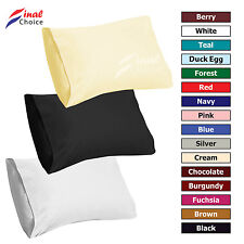 Luxury Housewife Egyptian Polycotton Percale Pillow Case Cases Cover Protector » Black
