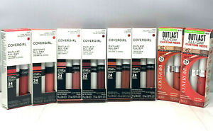 Covergirl Outlast All-Day Lip Color with Topcoat (.06oz/.07oz.) New; You Pick!
