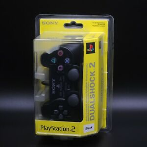 PlayStation 2 PS2 - Sony Original Controller Dualshock 2 - OVP Sealed Schwarz