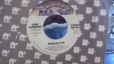 45U GENE SIMMONS KISS RADIOACTIVE/ SEE YOU IN YOUR DREAMS ON CASABLANCA RECORDS
