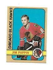 1972-73 OPC:#42 Jim Pappin,Black Hawks