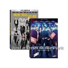 Now You See Me: Complete Morgan Freeman Movies Series 1 & 2 Box/DVD Set(s) NEW!