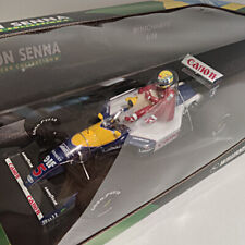 1991_Williams Renault FW14_A. Senna & N. Mansell_GBR taxi_MINICHAMPS®_1:18