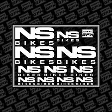 NS bikes stickers - sticker pack - mtb - bmx - cycling - vinyl - enduro