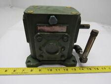 Ohio Gear B175-MC56 Right angle Gear Box Speed Reducer 5:1 Ratio