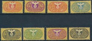 SALE Stamp Germany Revenue WWII Fascism War Era Medical Selection MNH