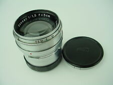Zeiss 5cm F/1.5 Sonnar 50mm Lens For Contaflex TLR Twin Lens Reflex Camera-RARE