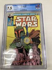 Marvel Comics Star Wars 68 CGC Graded 7.5