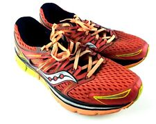 Saucony Triumph ISO S20262-5 Mens Sz 12M Running Training Shoes Red Orange A014
