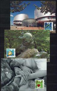 s3582 LIECHTENSTEIN MAXICARD 1999, Mixed issue 3v