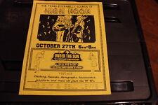 HIGH NOON Austin TEXAS (1994) Vintage Rockabilly Flyer/Poster