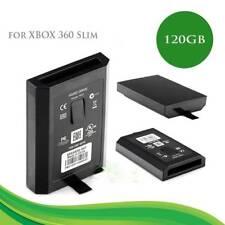 Slim 120 GB Internal Hard Drive Disk Storage HDD for Xbox 360  Black