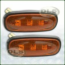 AMBRA LED LAMPADA RIPETITORE LATERALE OVALE SET LAND ROVER FREEL DEF, 2, DISCO 2 (DA8531)