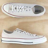 Converse Chuck Taylor 70 Low Top Parchment White Red Blue Shoes 142338C Size 10
