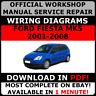# OFFICIAL WORKSHOP Service Repair MANUAL for FORD FIESTA MK5 2001-2008  #