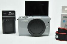 Canon EOS M10 Mirrorless Camera 18.0 Megapixel CMOS (APS-C) Full HD Sting Grey