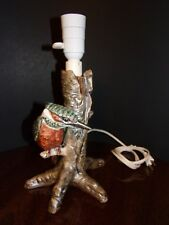 RARE GOEBEL LAMP Tree Trunk w/ Bird  Marked W. Germany Number 58303-21 1976