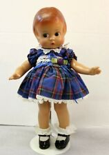 "Vtg Effanbee reproduction Patsy 14"" Doll Nice!"