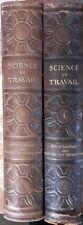 SCIENCE ET TRAVAIL Tomes 1 et 2 Quillet Encyclopédie des nouvelles inventions