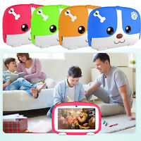 "7"" 8GB Android 4.4 Quad Core Camera WIFI Tablet For Kids Bundle Case Gift NEW"