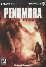 PENUMBRA Black Plague - US Version - Mystery Horror Adventure PC Game NEW in BOX