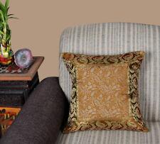"Home Bedding Decor Silk Brocade Work handmade Cushion Cover Pillow Cases 16x16"""